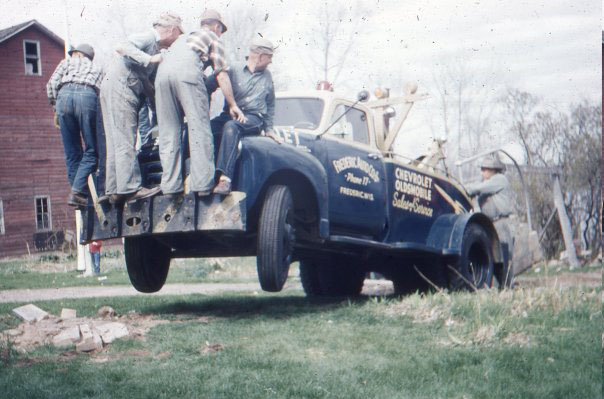 1950: Removing Concrete Steps from Parsonage